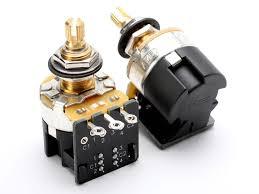 cts pot 500k audio push pull dpdt low torque 500
