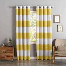 Grey White Striped Curtains Beautiful Yellow And Grey Striped Curtains 2018 Curtain Ideas