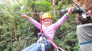 Treetop Canopy Tours by Canopy Zip Line Boquete Panama