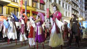 parade ribbon san francisco new year parade 2017 west portal elementary
