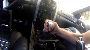 how to install a short shifter on a 2004 2006 pontiac gto youtube
