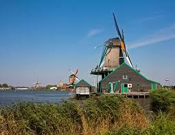 the windmills of the zaanse schans baldhiker