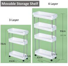 Shelves With Wheels by Qoo10 Cq Laundry Basket Movable Storage Shelf With Wheels
