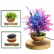 amazon com led levitating air bonsai pot pathonor magnetic