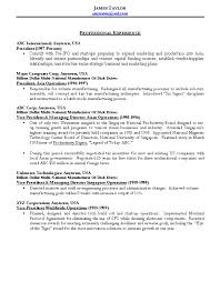 Resume For Someone With One Job by Resume Sample 10 Operations Management Resume Career Resumes