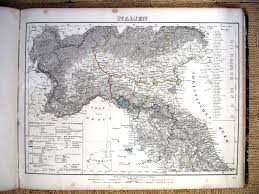 Map Northern Italy by Whkmla History Of Tuscany