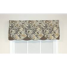Chocolate Brown Valances For Windows Kitchen Curtains You U0027ll Love Wayfair