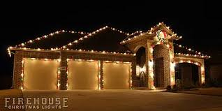 firehouse christmas lights the process