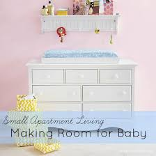 living in a small apartment with a baby chic and frugal mommy