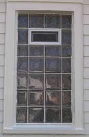 glass block bathroom ideas windows awning installation