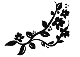 flower ornament 12 wallstickers