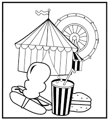 amazing carnival coloring pages 66 coloring kids