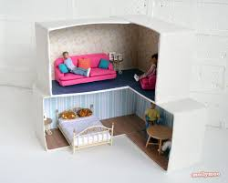 Diy Dollhouse Furniture 8 Charming U0026 Creative Diy Dollhouses Built By Parents Inhabitots