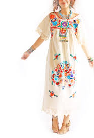 traditional mexican wedding dress handmade mexican embroidered dresses and vintage treasures from