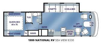 1999 national rv sea view 8330 u2013 stock c00077 the rv man