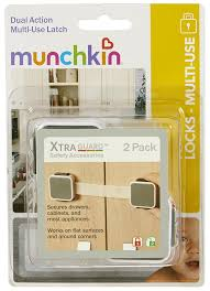 amazon com munchkin xtraguard dual action multi use latches 2