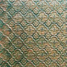 Amazoncom Faux Tin WC Patina Copper Decorative Kitchen - Pvc backsplash