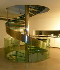 elegant glass stair railing home design luxury loversiq