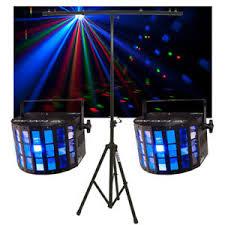 2 chauvet dj lighting mini kinta irc derby color led light w