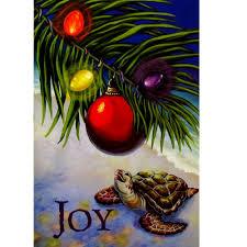 buns of maui hawaiian christmas cards box of 10 honu or turtle