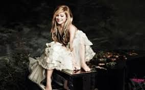 avril lavigne 414 wallpapers avril lavigne dress shadow mouth hands wallpaper other