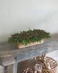 christmas centerpieces preserved cedar centerpiece 25
