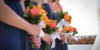 wedding flowers for bridesmaids st islands florists wedding flowers island