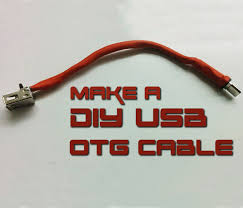 how to make usb otg cable 5 steps with pictures