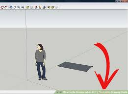 how to be precise when using sketchup drawing tools 5 steps