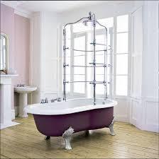 bad freistehende badewanne dusche raffinierte clawfoot badewanne design für das elegante badezimmer