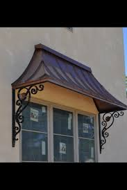 Copper Awnings For Homes Copper Awning By Josh For The Home Pinterest