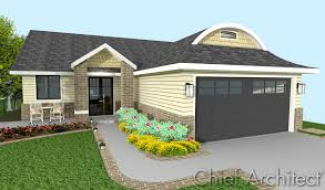 duplex plans with garage in middle chief architect home design software samples gallery