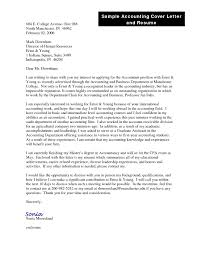 Sample Cover Letter For Early Childhood Teaching Position by Interesting Accounting Cover Letter Samples Free 24 With