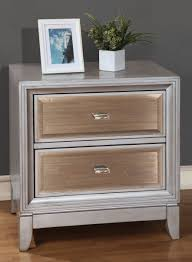 Mirrored Nightstand Epic Wood And Mirrored Nightstand 70 In Small Home Remodel Ideas