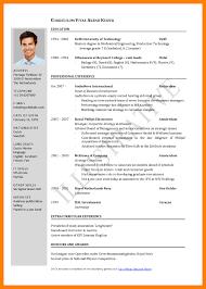resume format free download 2015 srilanka curriculum vitae format in sri lanka free sles exles