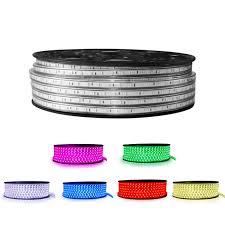 ip67 led strip lights 110v 120v 220v 230v waterproof led strip light factory mjjcled com
