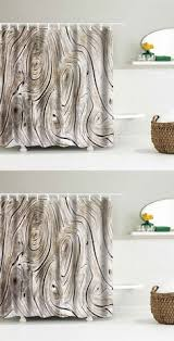 waterproof shower curtain with flamingo print home decor online