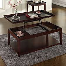 cherry lift top coffee table steve silver cl900c clemson lift top cocktail table in merlot cherry