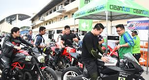 philippines motorcycle taxi cleanfuel supports 2017 california superbike in clark