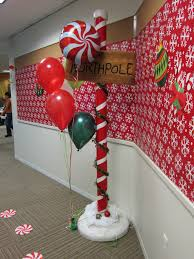 Office Christmas Door Decorating Contest Ideas North Pole Decor First Birthday Party Ideas Pinterest North