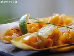 cuisiner endives cuites salade d endives braisées aux crevettes facile recette sur