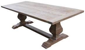 solid wood trestle dining table custom dining tables handmade from traditional trestle tables leaf