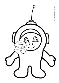funny spaceman coloring pages for kids printable free coloing