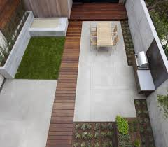 concrete patio ideas contemporary with pavers pendant lights