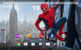 spider man xperia spider man homecoming theme android apps on google play