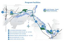 Boring Oregon Map by Water Pipeline Lake Oswego U2022 Tigard Water Partnership
