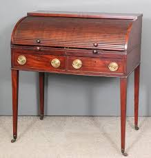 roll top desk tambour a late georgian mahogany roll top desk the tambour front enclosing