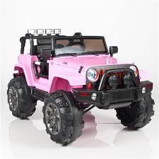 mini jeep for kids kids 12v power pink jeep style car parental r c remote control ride