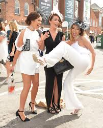 Watch The People Under The Stairs Online by Grand National Racegoers Dress To The Nines For Ladies Day Daily
