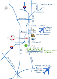 International Drive Orlando Map by Doso Office Suites Map Jpg